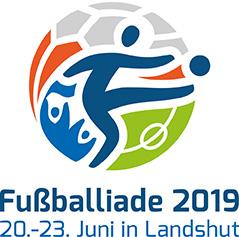 Logo der Fußballiade 2019